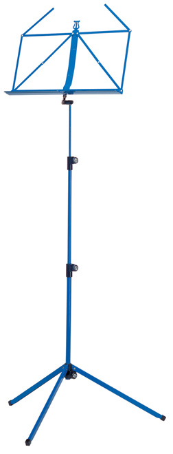K&M Rainbow Music Stand<br>Blue