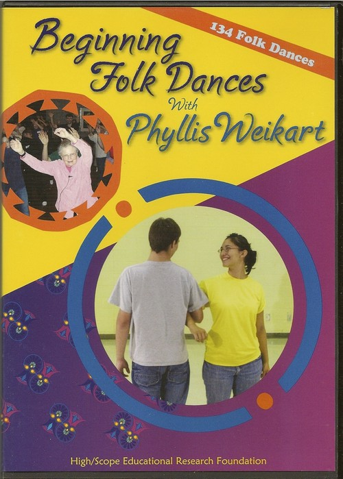 Beginning Folk Dances, 6 DVD set <BR> Phyllis Weikart
