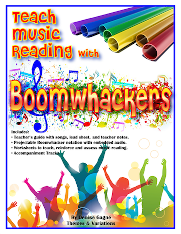 Teach Music Reading with Boomwhackers<br>Denise Gagn�