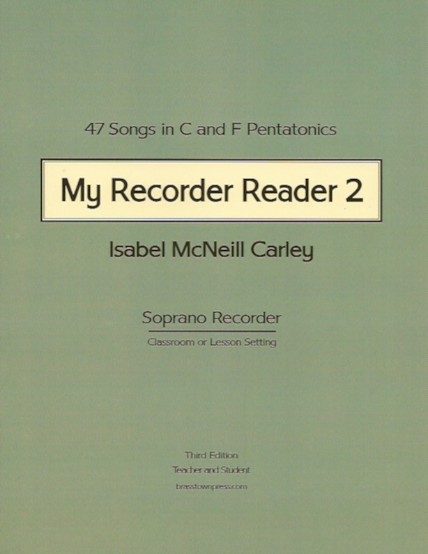 My Recorder Reader 2<br>Isabel McNeill Carley
